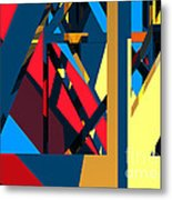 Abstract Sine L 19 Metal Print