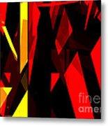 Abstract Sine L 21 Metal Print