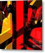 Abstract Sine L 5 Metal Print