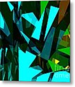 Abstract Sine L 7 Metal Print