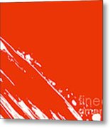 Abstract Swipe Metal Print