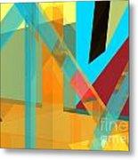 Abstract Tan 8 Metal Print
