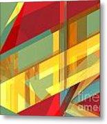 Abstract Tan 9 Metal Print