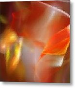 Abstract Under Glass Metal Print