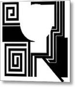 Abstract 2. Metal Print