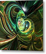 Abstracted Love Fx  Metal Print
