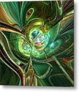 Abstracted One Love Fx  Metal Print
