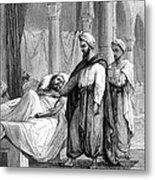 Abulcasis, Islamic Physician Metal Print