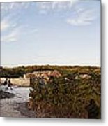 Access To The Beach Of Es Trenc Metal Print