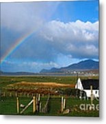 Achill Island In County Mayo  Ireland Metal Print