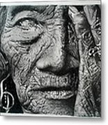 Aching Loneliness Of Life Metal Print