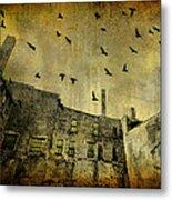 Industrial Acid Urban Sky Metal Print