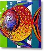 Acidfish 60 Metal Print