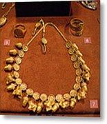 Acorn Necklace Metal Print