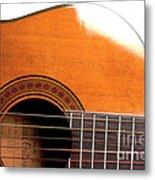 Acoustic Guitar 15 Metal Print