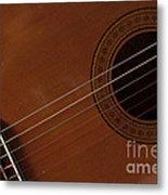 Acoustic Guitar 21 Metal Print