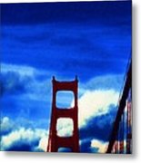 Across The Deep Metal Print by Holly Ethan