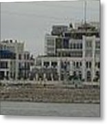 Across The Mississippi Metal Print