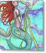 Adira The Mermaid Metal Print
