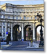 Admiralty Arch In Westminster London Metal Print