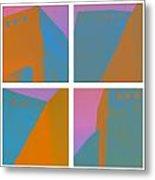 Adobe Walls Four-up Metal Print by Carol Leigh