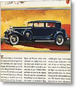 Ads: Packard, 1932 Metal Print