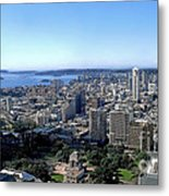 Aerial View - Sydney Harbour Metal Print