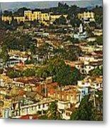 Aerial View Of Santiago De Cuba, Cuba Metal Print