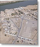 Aerial View Of Unknown Forward Metal Print