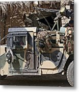 Afghan National Army Soldiers Prepare Metal Print