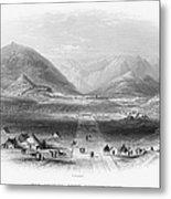 Afghan War 1839-1842. For Licensing Requests Visit Granger.com Metal Print