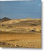 Afghanistan Ruins Metal Print