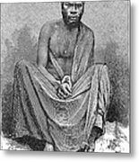 Africa: Yao Chief, 1889 Metal Print