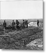African-american Soldiers Of The 321st Metal Print
