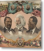 African Americans, C1881 Metal Print