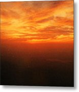 African Sky Metal Print by Kehinde Thompson