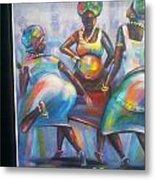 African Women Metal Print
