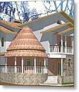 Afroexpressionism House Metal Print