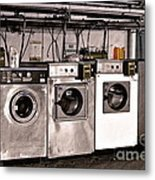 After Enlightenment The Laundry. Metal Print