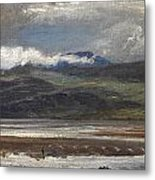After Rain Metal Print by Henry Moore