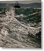 After The Hurricane Cape Cod Metal Print