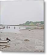 After The Rain Kennebunkport Maine Metal Print