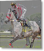 After The Win Metal Print
