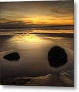 After Tide Out Metal Print