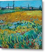 after Van Gogh 14 Metal Print