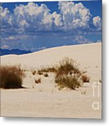 Afternoon At White Sands National Monument Metal Print