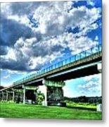 Afternoon By The Bridge 1 Metal Print by Heather  Boyd