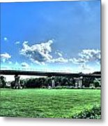 Afternoon By The Bridge 3 Metal Print by Heather  Boyd