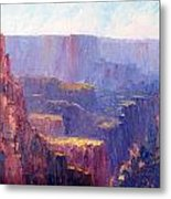 Afternoon In The Canyon Metal Print