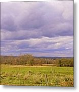 Afternoon In The Country Metal Print by Katina Cote